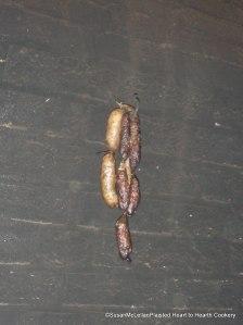 Sausage Smoking in a Chimney