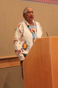 Tony Washines, Yakama Elder
