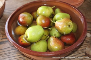 Pears and Sweet Wort