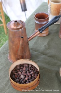 Chocolate Pot and Fermented Cacao