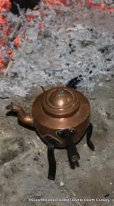Swedish Copper Iron Legged Tea Kettle?