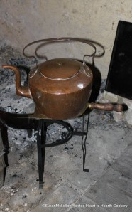 Copper Tea Kettle on Stand