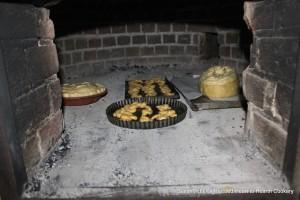 Sturgeon Pie Baking