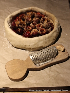 "After the beaten cinnamon was added to receipt (recipe) ""To make a Cherry Tart"", ginger was grated into the coffin."